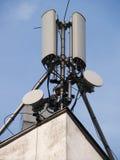 De antenne van Comunication Stock Afbeeldingen