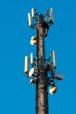 De Antenne van de microgolf Royalty-vrije Stock Foto's