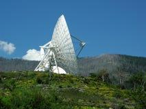 De Antenne van de schotel Royalty-vrije Stock Afbeeldingen