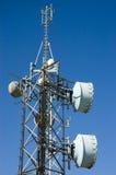 De antenne van de transmissie Stock Afbeeldingen