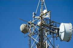De antenne van de transmissie Stock Foto's