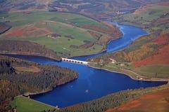 De antenne van het reservoir Royalty-vrije Stock Afbeeldingen