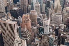 De antenne van New York Stock Afbeeldingen