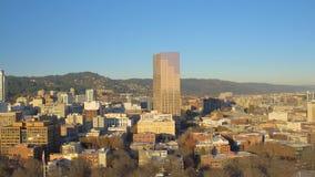 De Antenne van Portland stock video