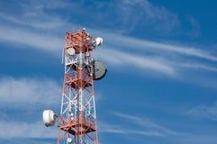 De Toren van de telecommunicatie Royalty-vrije Stock Fotografie