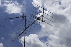 De antenne van TV Royalty-vrije Stock Foto's