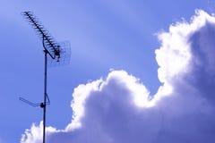 De antenne van TV stock fotografie