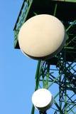 De Antennes van de radar Stock Afbeeldingen