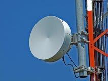 De antennes van de telecommunicatie royalty-vrije stock foto