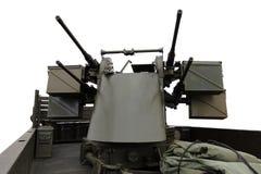 De anti Kanonnen van Vliegtuigen Royalty-vrije Stock Afbeelding