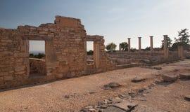 De antic ruïne van Cyprus Griekenland Royalty-vrije Stock Foto's