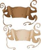 De antieke Banners van de Stijl Royalty-vrije Stock Fotografie