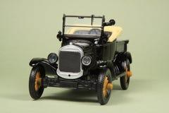 De Antieke Bestelwagen van het stuk speelgoed Stock Foto's