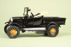 De Antieke Bestelwagen van het stuk speelgoed Stock Foto