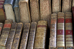 De antieke boeken van Parijs Royalty-vrije Stock Fotografie