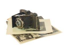 De antieke Camera van de Foto Royalty-vrije Stock Afbeeldingen