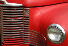 De antieke Grill van de Vrachtwagen royalty-vrije stock afbeelding
