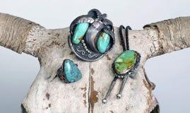 De antieke Juwelen van Navajo Royalty-vrije Stock Afbeelding