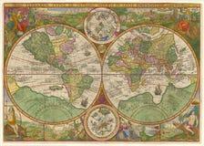 De Antieke Kaart van uitstekende kwaliteit Royalty-vrije Stock Afbeelding