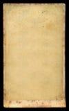 De antieke lege kaart van het fotokabinet Stock Afbeelding