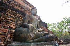 De antieke meditatie van Boedha Stock Foto's