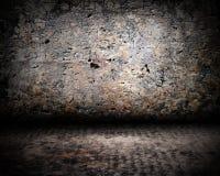 De antieke Muur van het Leeftijdsstadium Stock Afbeeldingen