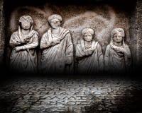 De antieke Muur van het Leeftijdsstadium Royalty-vrije Stock Fotografie