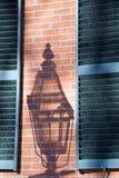 De antieke Schaduw van de Lamp van het Gas Royalty-vrije Stock Foto