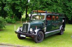 De antieke Vrachtwagen van de Brand Royalty-vrije Stock Fotografie