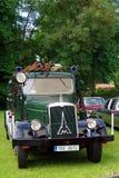 De antieke Vrachtwagen van de Brand Royalty-vrije Stock Afbeeldingen