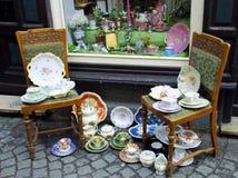 De antieke winkel Stock Foto