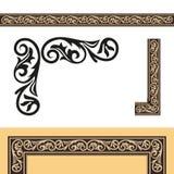 De antika designbeståndsdelarna Royaltyfri Fotografi