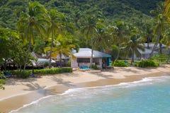 De Antillen, de Caraïben, Antigua, St Johns, Hawksbill-Baai & Strand Royalty-vrije Stock Foto's