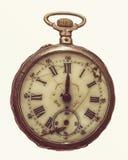De antiquiteit rotte zakhorloge stock fotografie