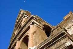De antiquiteit van Coliseum amphitheatre Rome Italië Royalty-vrije Stock Foto's