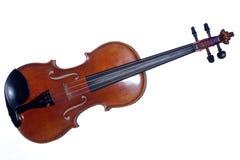 De Antiquiteit van de Altviool van de viool die op Wit wordt geïsoleerdw stock foto