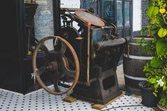 De antiquiteit van de luchtindustrie stock foto