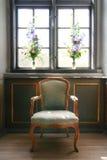 De antiquiteit van de stoel Stock Foto's