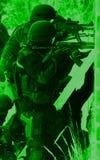 De antiterroristenpolitie van de onderverdeling Stock Afbeeldingen