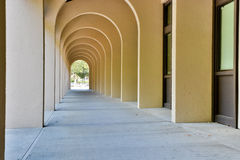 De Anza College Arches. One of Many Arches on campus Royalty Free Stock Images