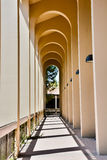 De Anza College Arches. One of Many Arches on campus Royalty Free Stock Photography