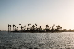 De Anza Cove at Mission Bay Park. In San Diego, California stock images