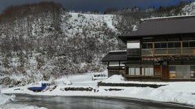 De Aomori-prefectuur, Tohoku-gebied, Japan stock video