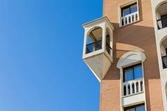 De Apartmantbouw Royalty-vrije Stock Afbeelding
