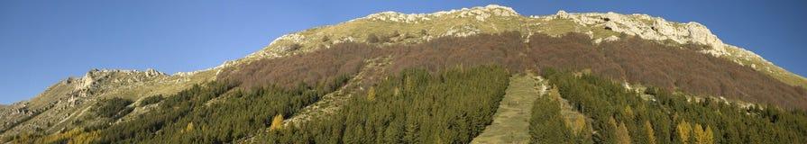 De Apennijnen Stock Fotografie