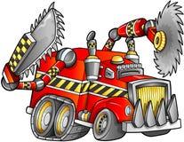 De apocalyptische Vector van het Vrachtwagenvoertuig Royalty-vrije Stock Foto's