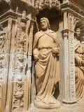 De Apostel Heilige Matthias in de Heilige Thomas Church van Haro, L Stock Foto
