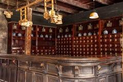 De apotheken van de Poortxiangshan Tang van het Oosten van Zhejiangjiaxing Wuzhen Stock Afbeeldingen