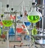 De apparaten van het laboratorium royalty-vrije stock afbeelding