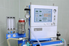 De apparatuur in het ziekenhuis. Stock Foto's